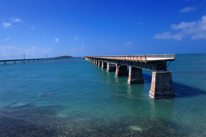 Seven Mile Bridge - Florida Keys, Florida