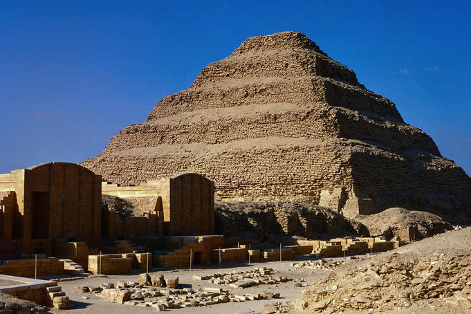 Step Pyramid of Zoser - North Saqqara, Nile Valley