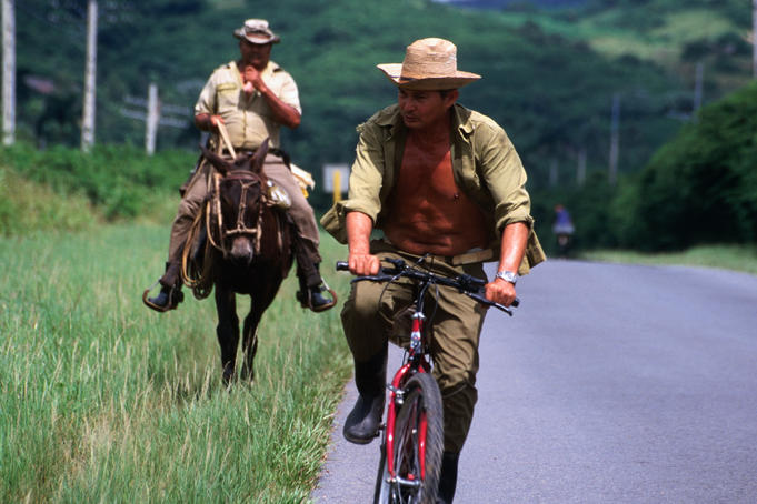 Peddle and horse power in the countryside of Cuba