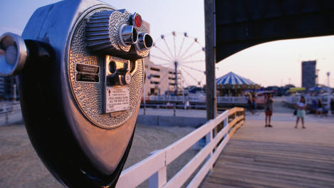 Virginia Beach boardwalk, Virginia