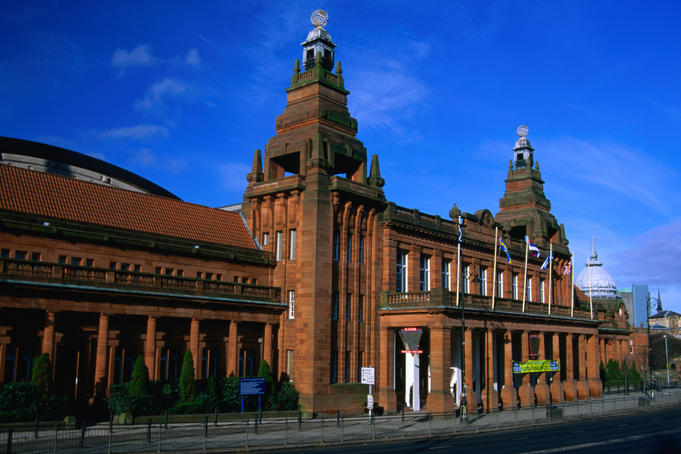 Kelvin Hall and the Museum of Transport in Glasgow, reputedly the best transport museum in the United Kingdom
