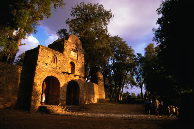 Debre Birhan Sellassie Church.