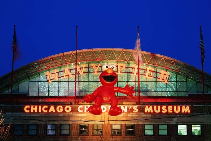 Entrance to Chicago Children's Museum, Navy Pier.
