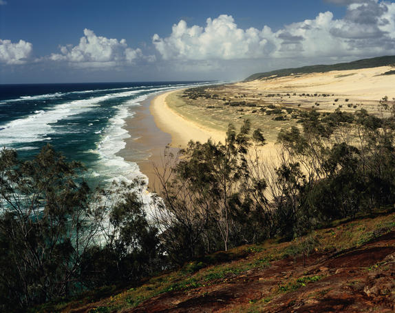 Great Sandy National Park on Fraser Island.