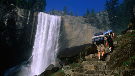 Mist Trail, Yosemite National Park