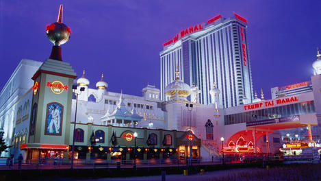 Trump Taj Mahal casino, Atlantic City