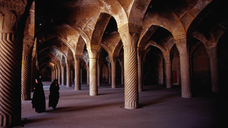 The Masjid-e Vakil, Shiraz