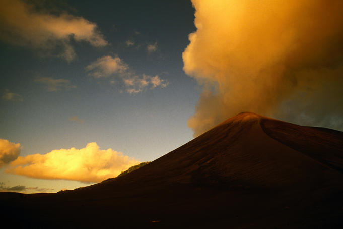The yasur volcano believed to be the originator of the universe