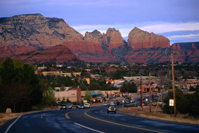 Nestled in the heart of red-rock country, Sedona also offers fine resorts, excellent restaurants and art galleries.