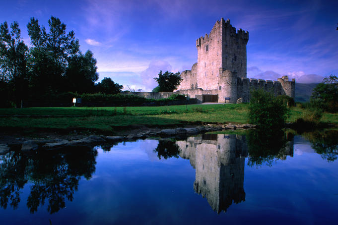 Ross Castle in Killarney National Park.