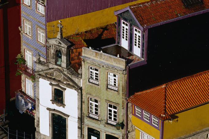 The historic medieval coastal town of Porto. In 1996 it was declared an UNESCO World Heritage Site.