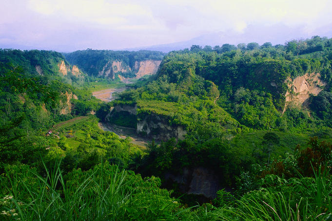 Bukittinggi Canyon.