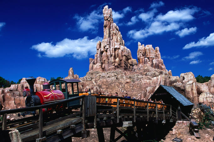 Big Thunder Mountain Railroad at Disney's Magic Kingdom.