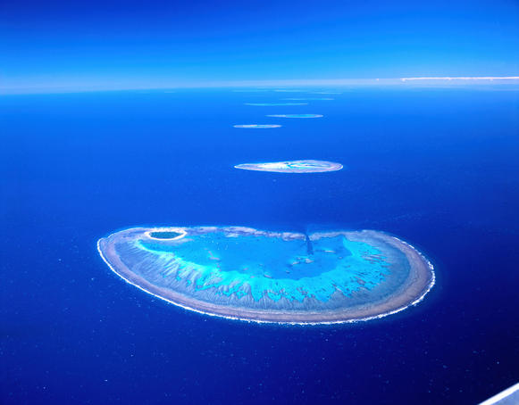 Hoskyn Islands, Bunker Group on the Great Barrier Reef