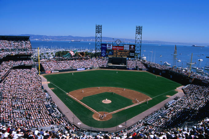 San Francisco baseball stadium.