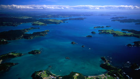 Stunning coastal scenery, Bay of Islands