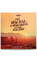 Lonely Planet Calendar 2017