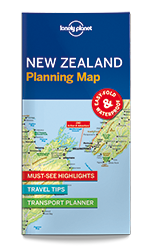 New Zealand Planning Map Lonely Planet Shop - Sweden map lonely planet