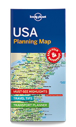 USA Planning Map Lonely Planet Shop - Georgia map lonely planet