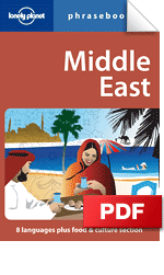 Middle East phrasebook