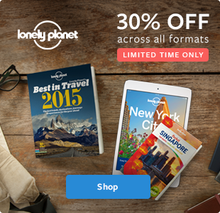 Lonely Planet final day 30% off across all formats