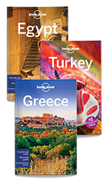 Egypt, Turkey & Greece Bundle (Print Only) by Lonely Planet