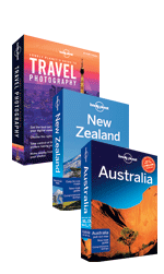 Lonely Planet Australia & New Zealand Travel Pack 1