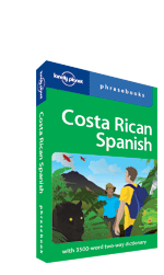 Costa Rican Spanish Phrasebook 3