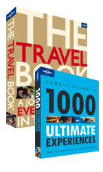 The Travel Book & Lonely Planet's 1000 Ultimate Experiences Bundle