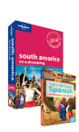 South America travel guide + Latin American Spanish phrasebook Bundle