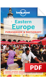 Eastern Europe Phrasebook - Albanian (Chapter)