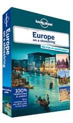 Europe on a Shoestring travel guide, 8th Edition Oct 2013 by Lonely Planet