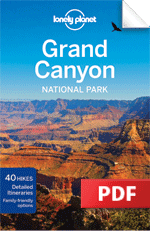 Grand Canyon National Park travel guidebook