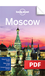 Moscow city guidebook