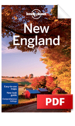 New England travel guide - 6th Edition