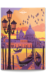 Notebook - Illustrated Cover - Europe, 1st Edition Jul 2017 by Lonely Planet