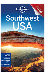 Southwest USA travel guidebook