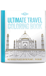 Ultimate Travel Coloring in Book