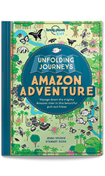 Unfolding Journeys - Amazon Adventure, 1st Edition Oct 2016 by Lonely Planet