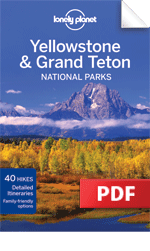 Yellowstone & Grand Teton National Parks travel guidebook