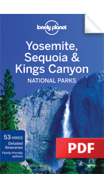 Yosemite, Sequoia &amp; Kings Canyon National Park travel guidebook