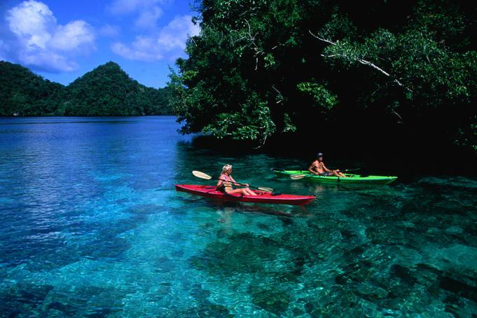 Kayaking off Rock Island - Courtesy of media.lonelyplanet.com