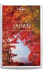 Best of Japan travel guide, 1st Edition Nov 2017 by Lonely Planet