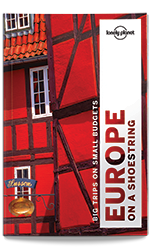 Europe on a Shoestring travel guide, 9th Edition Oct 2016 by Lonely Planet