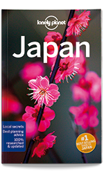 Japan travel guide, 15th Edition Aug 2017 by Lonely Planet